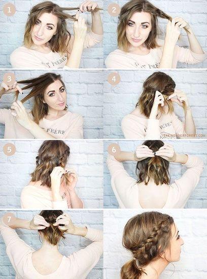 40 tutos coiffure à piocher sur Pinterest , Version Femina