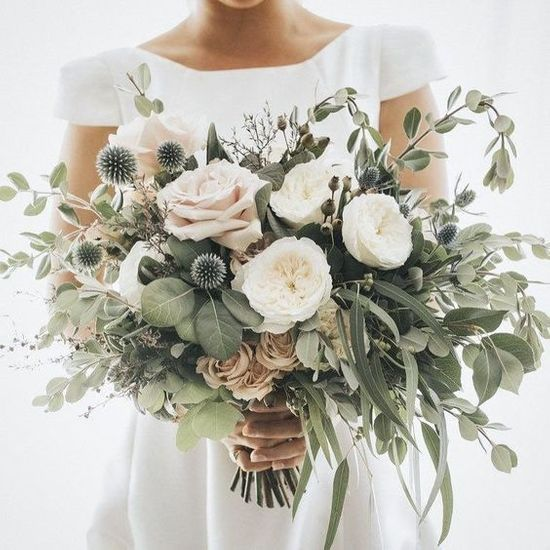 Permalink to Bouquet Mariee Champetre Blanc