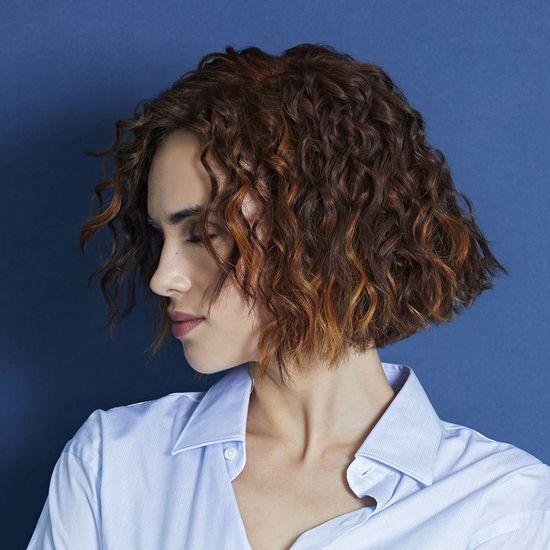 Coupe cheveux court frise femme 2019