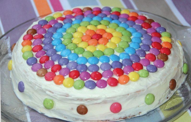Gâteau-arc-en-ciel