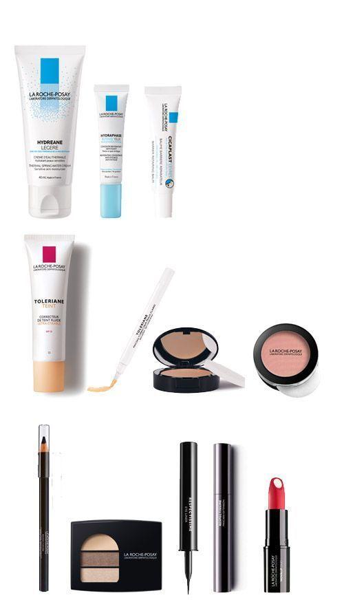 Les produits La Roche Posay utilisés pour ce tutoriel maquillage anti-âge