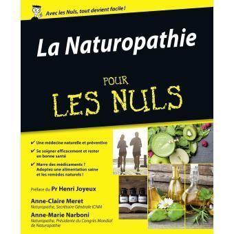 La couverture du livre d'Anne-Claire Meret La naturopathie pour les nuls