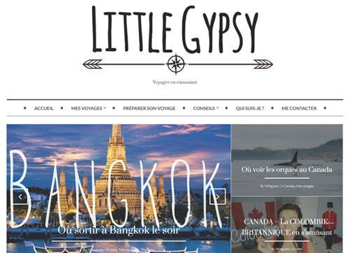 Le blog Little Gypsy.