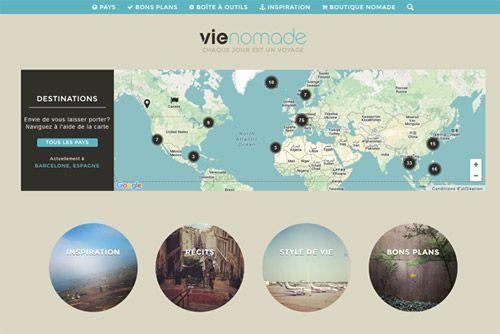 Le blog Vie nomade