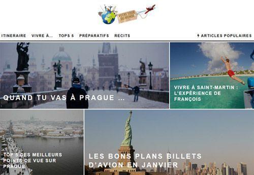 Le blog votre tour du monde