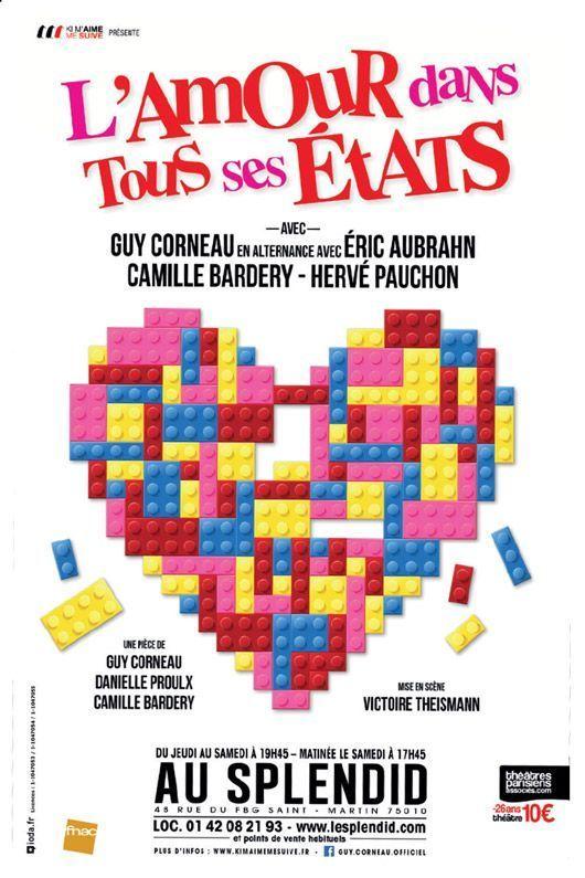 L'affiche de l'amour dans tous ses états.