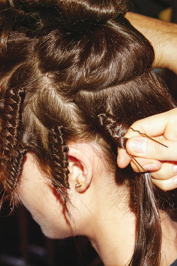 Une technique pour friser ses cheveux naturellement.