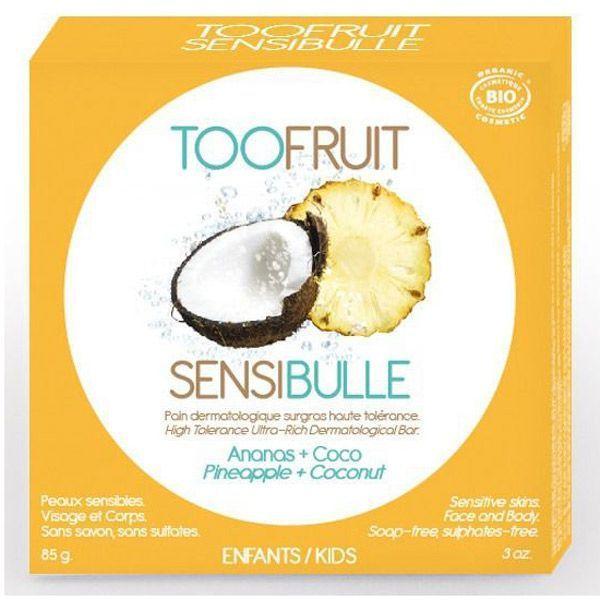 3760210760275-main_image---Toofruit_sensibulle-pain-dermatologique-coco-ananas-visage-corps_85g