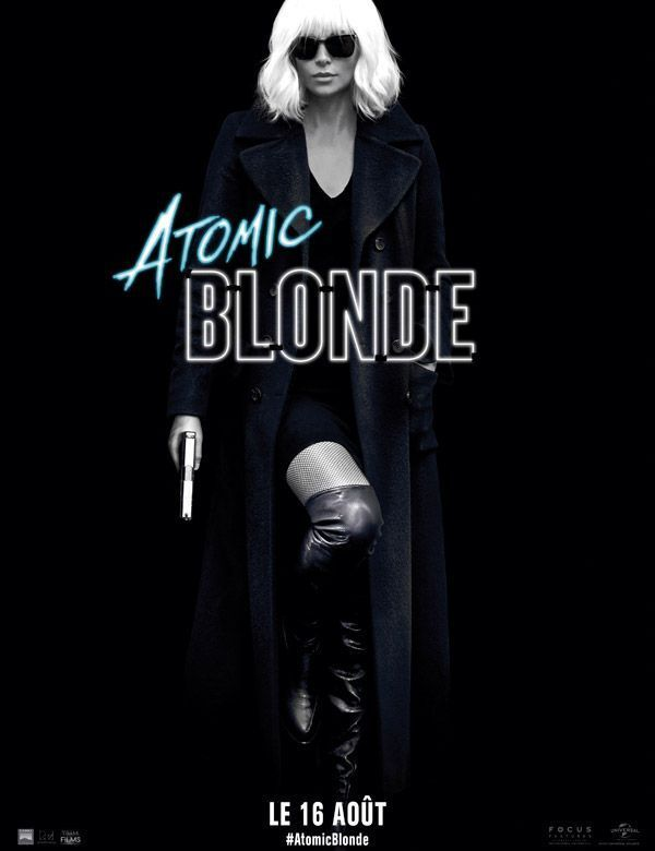 L'affiche du film Atomic Blonde