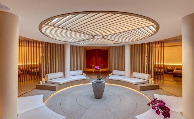 Le puits de lumière du Spa Cinq Monde du Monte-Carlo Bay Resort
