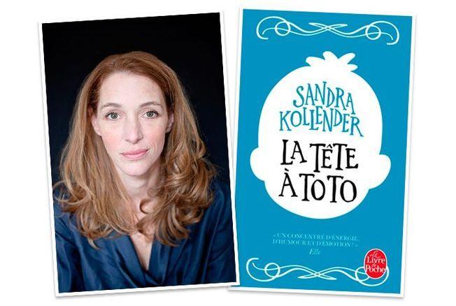 Sandra Kollender la tête à toto