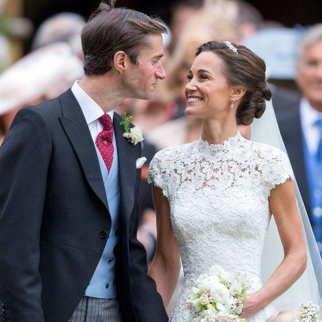La coiffure de mariage de Pippa Middleton.