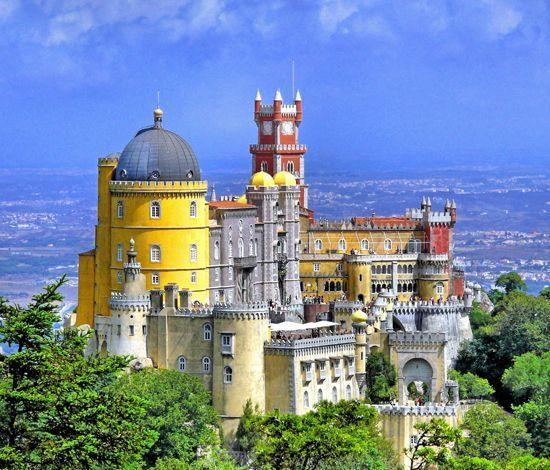 Sintra au Portugal