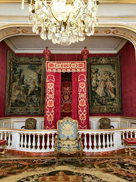 La chambre royale de François 1er.