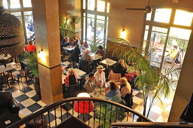 Café de la Poste à Marrakech