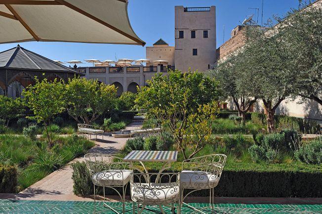 oasis urbaine jardin secret à marrakech