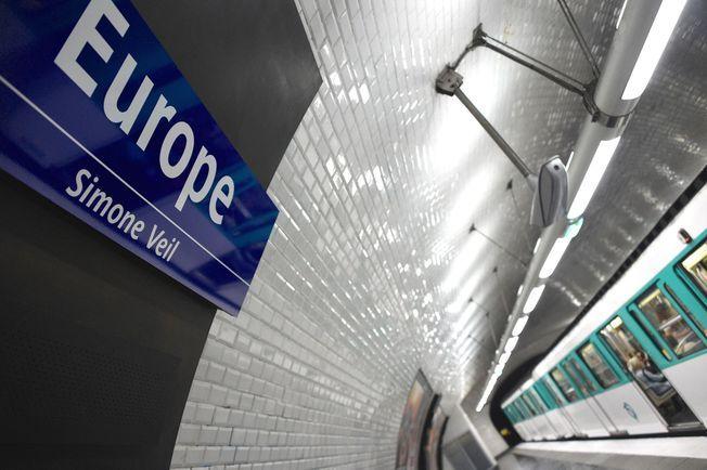 Europe station métro