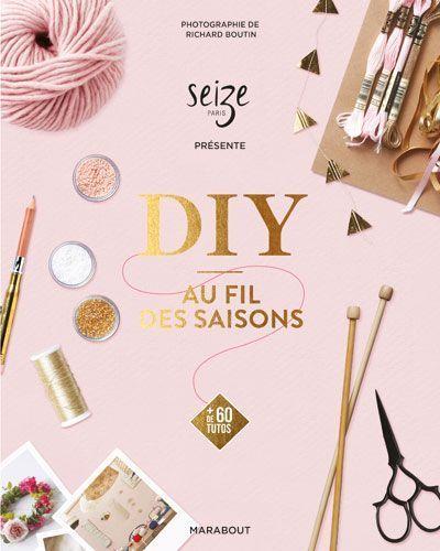 La couverture du livre DIY au fil des saisons.
