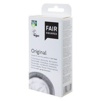 Les préservatifs Fair Squared.
