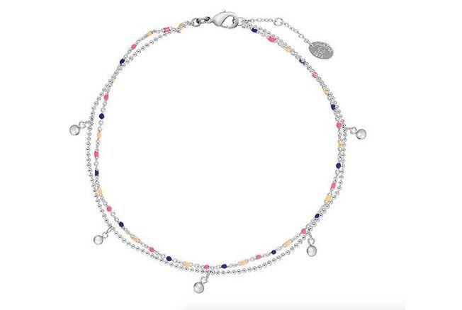Bracelet de cheville perlé