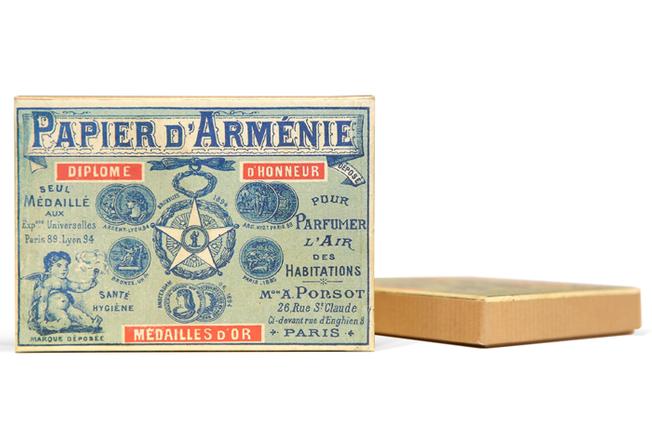 Papier d'Arménie, un parfum d'intérieur unique