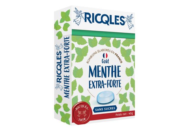 Bonbons sans sucres Menthe Extra-Forte