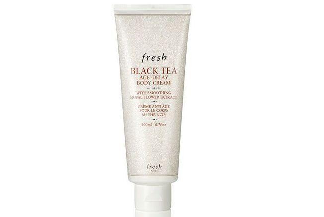 Black Tea Age-Delay Body Cream, Fresh