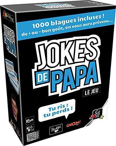 Le jeu de société Jokes de papa.