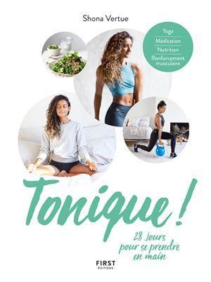 La couverture du livre Tonique de Shona Vertue.