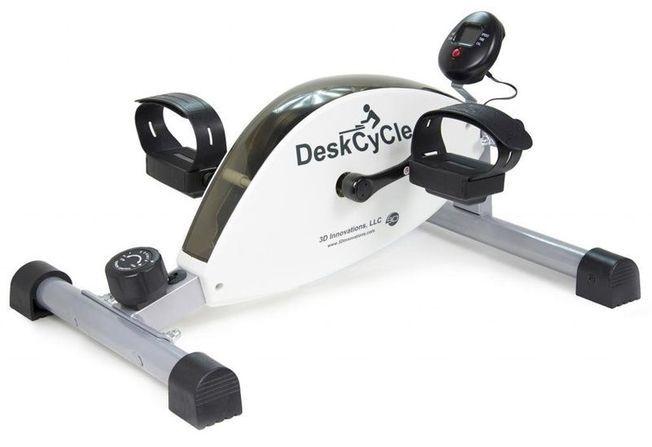 Le Mini vélo d'exercice pour bureau DeskCycle.