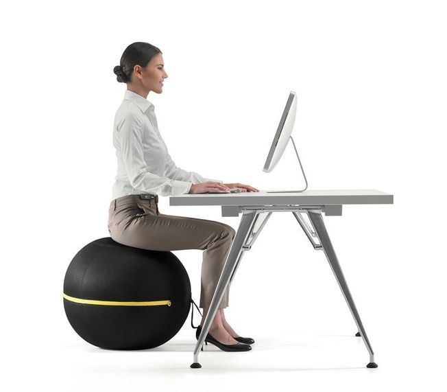 La Wellness Ball Active Sitting de Technogym.