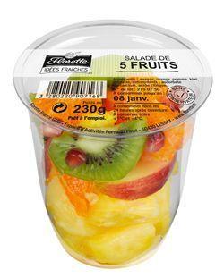 Un shaker de fruits.