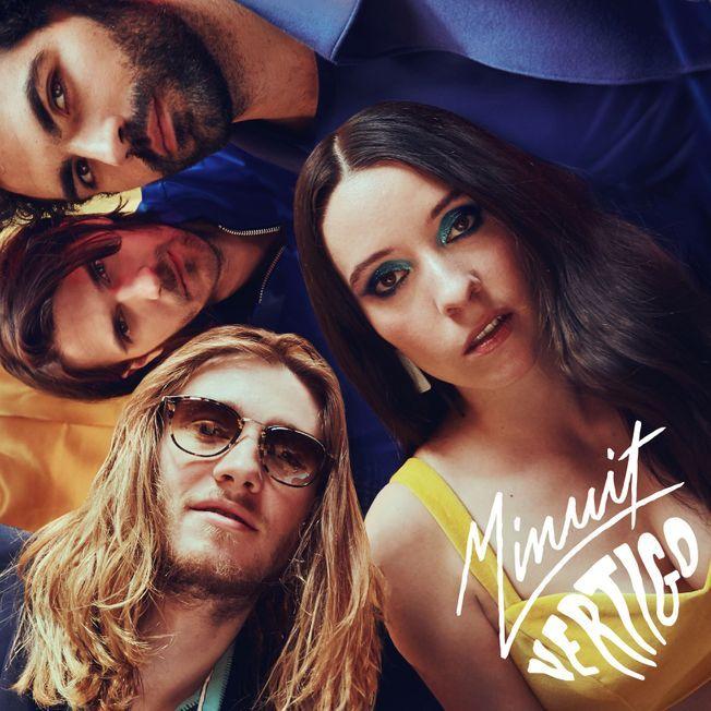 L'album Vertigo de Minuit.