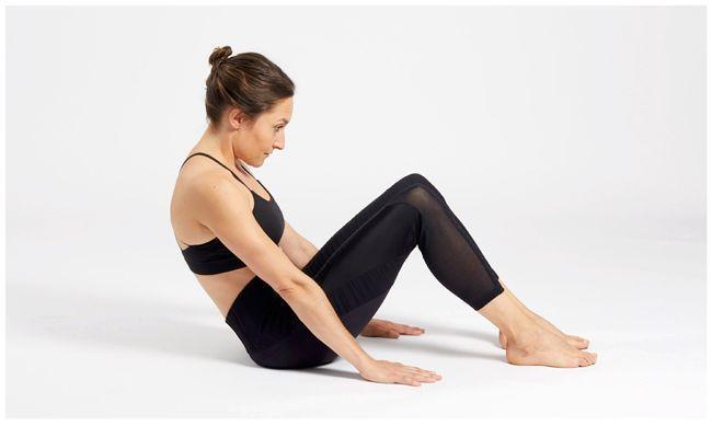Un exercice de yoga pour un ventre plat.