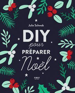 La couverture du livre DIY pour préparer Noël.