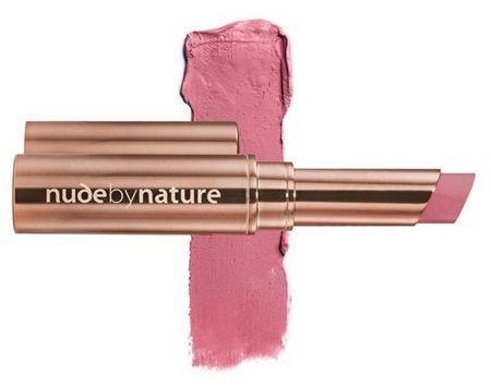 Le rouge à Lèvres Mat Crémeux #Coral Pink de Nude by Nature.