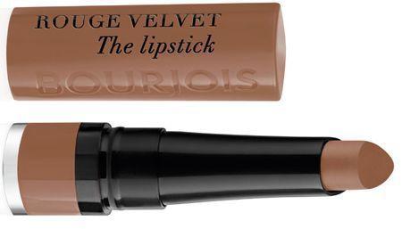 Le Rouge Velvet the Lipstick #Moka-Déro de Bourjois.