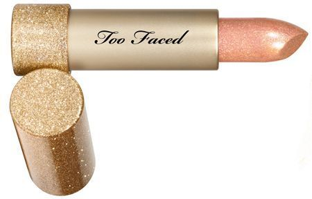 Le Throwback Metallic Sparkle Lipstick Bionic de Too Faced.