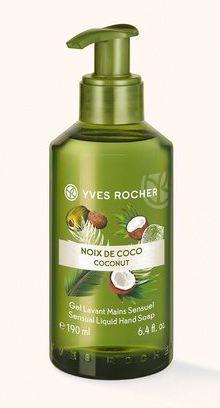 Gel Lavant Main Noix de Coco, Yves Rocher.