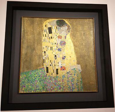 Le Baiser de Klimt.