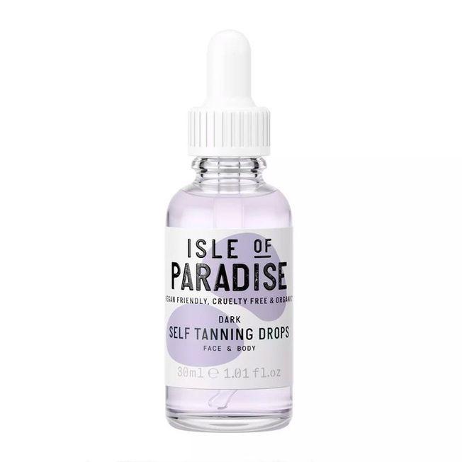 Les gouttes autobronzantes Isle of Paradise.