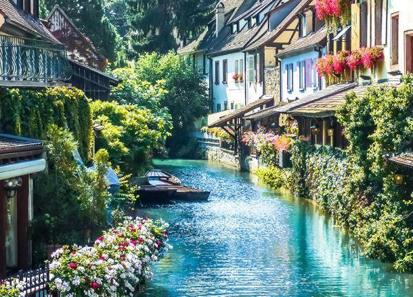 La Petite Venise à Colmar.