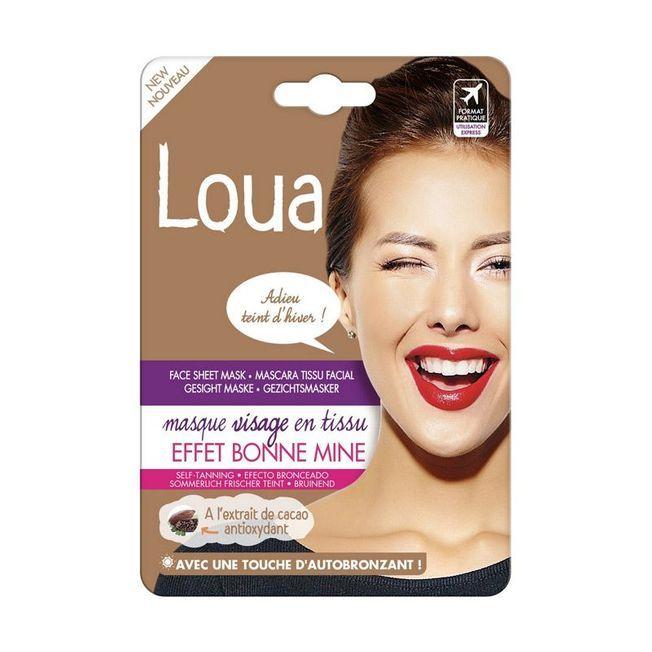 Le maque autobronzant Loua.