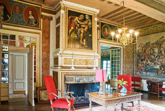 La chambre de Parade du château de Bonnemare.