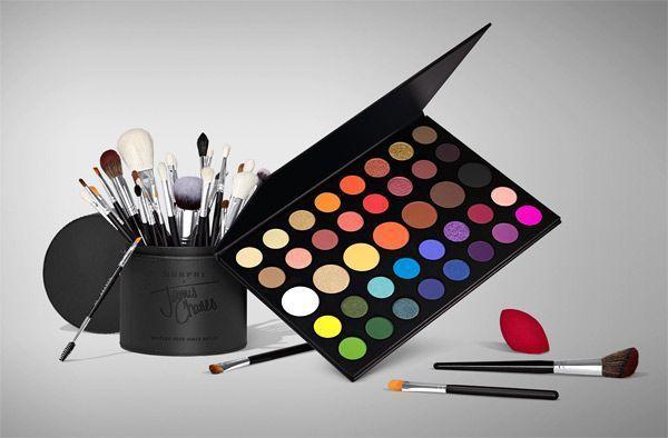 La palette James Charles de Morphe Cosmetics.