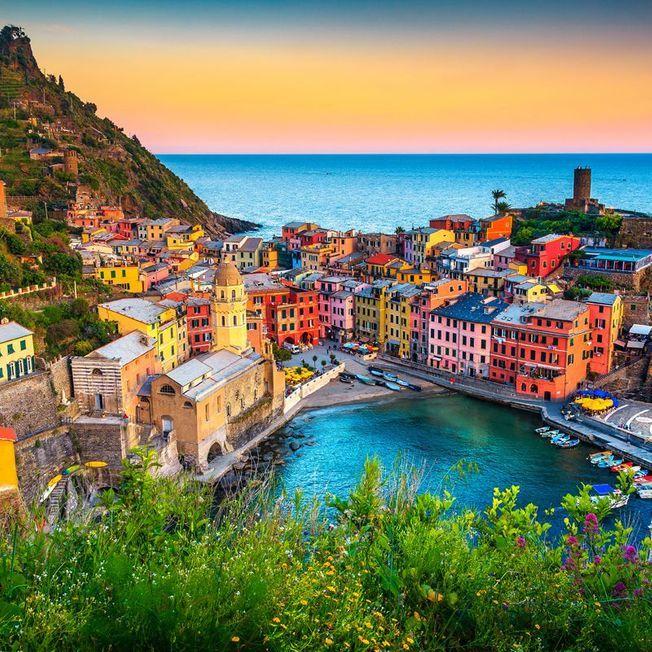 Cinq Terres en Italie.