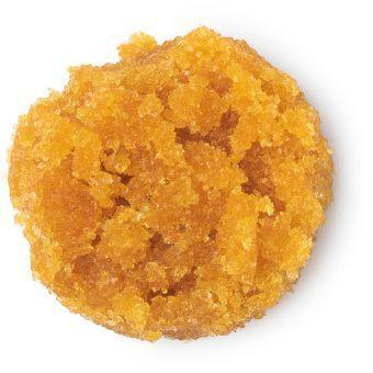 L'exfoliant à lèvres Pumpkin Spice de Lush.