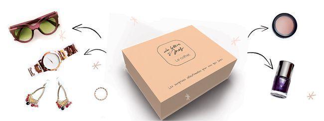 La box Le Lettre d'Ines.
