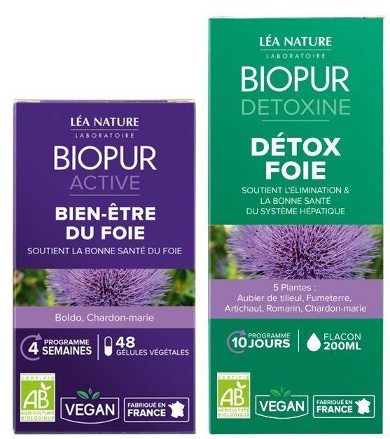 Le programme détox foie de Biopur.