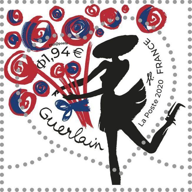 Le timbre Coeur Guerlain 2020.